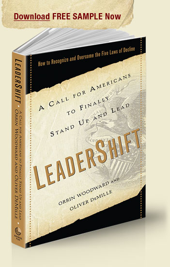 Ten Percent LeaderShift is an amazing book calling Americans to finally Stand Up and Lead!